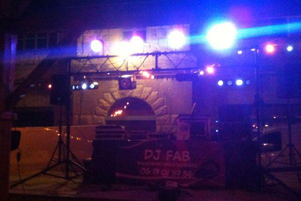 DJ Fab animation Corse