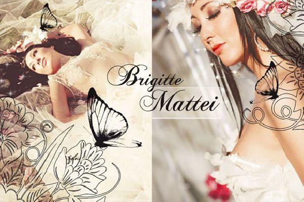 Brigitte Mattei Création robe de mariée