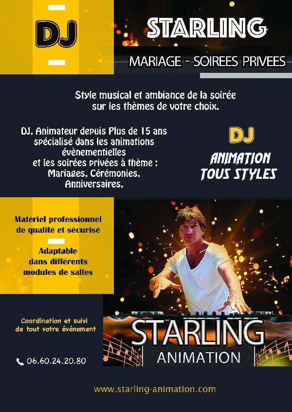Flyer Presentation Starling Animation