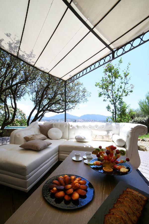 Terrasse - Villa Mas de Pierre