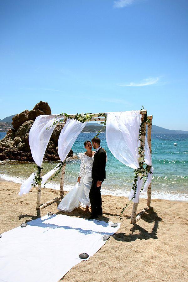 Cérémonie face à la mer - Hôtel Marinca