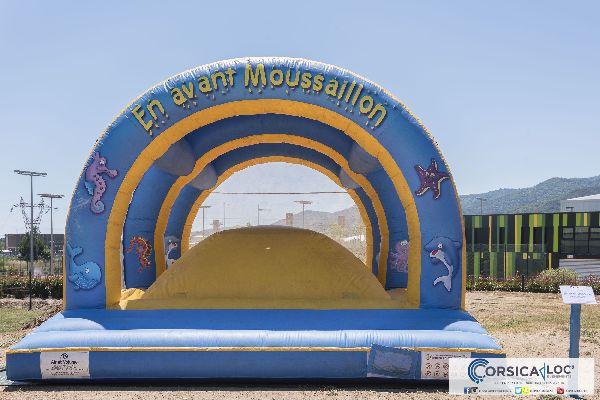 Structure gonflable moussaillon