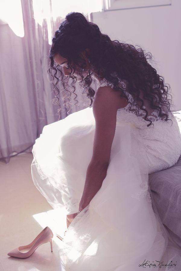 mariée preparation